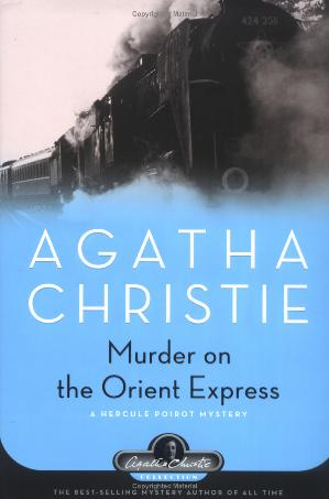 Обложка книги Murder on the Orient Express