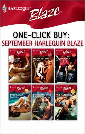 Обложка книги One-Click Buy: September Harlequin Blaze