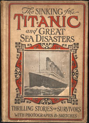 Обложка книги Sinking of the Titanic and Great Sea Disasters