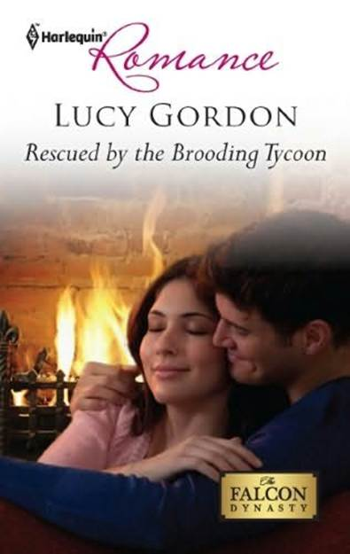 Обложка книги Rescued by the Brooding Tycoon