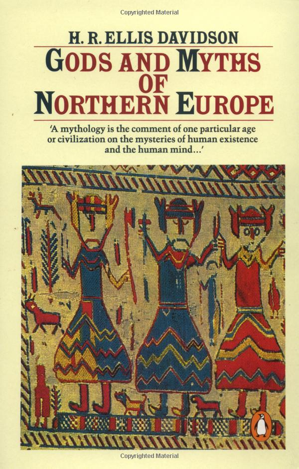 Обложка книги Gods and Myths of Northern Europe