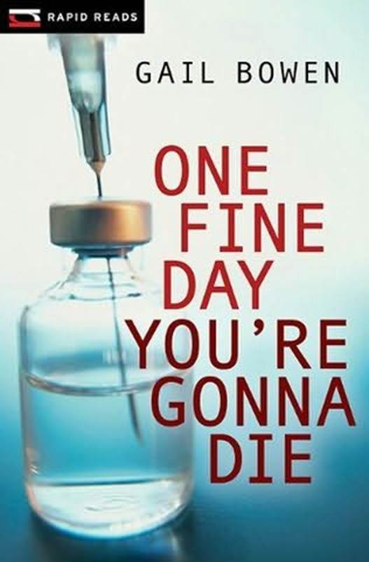 Обложка книги One Fine Day You're Gonna Die