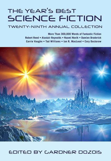 Обложка книги The Year's Best Science Fiction, Volume 29