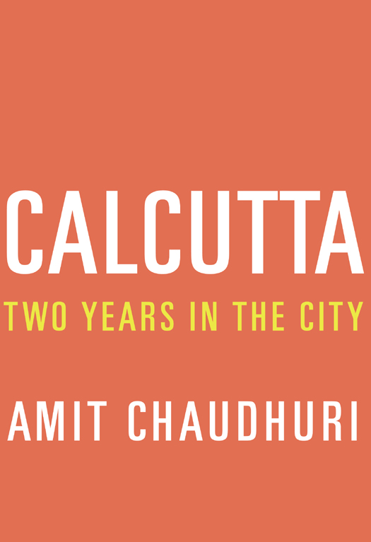 Обложка книги Calcutta: Two Years in the City