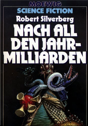 Обложка книги Nach all den Jahrmilliarden