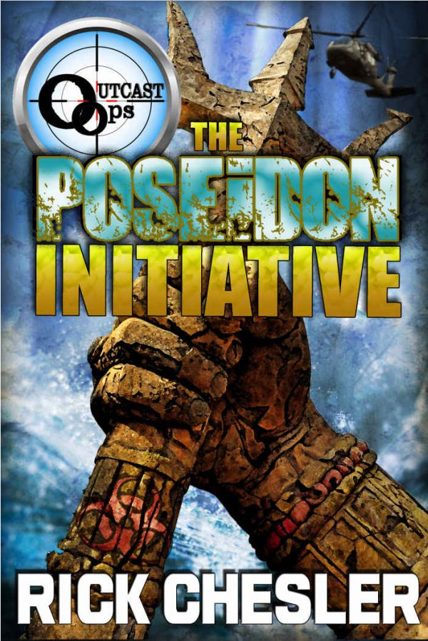 Обложка книги OUTCAST Ops: The Poseidon Initiative