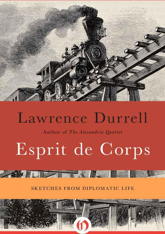 Обложка книги Esprit de Corps: Sketches from Diplomatic Life