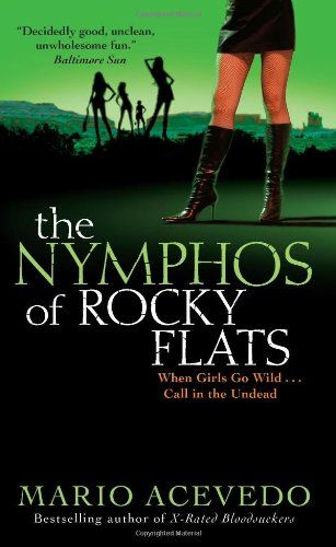 Обложка книги The Nymphos of Rocky Flats