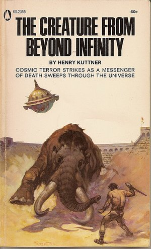 Обложка книги The Creature from Beyond Infinity