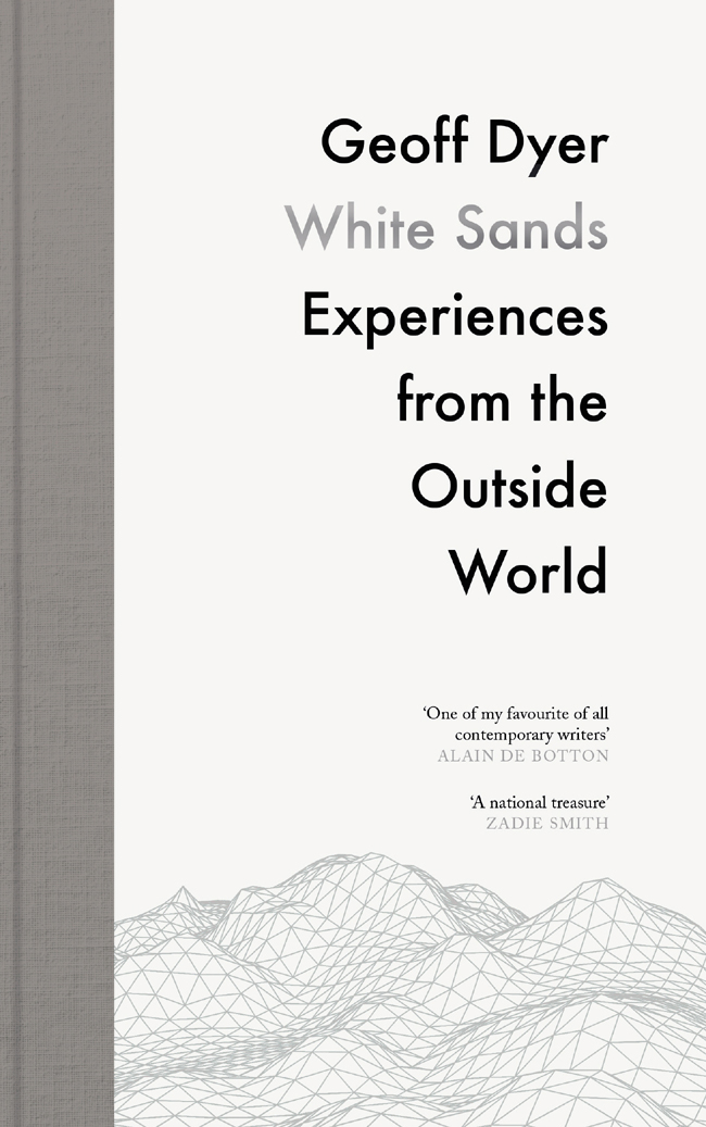 Обложка книги White Sands: Experiences from the Outside World