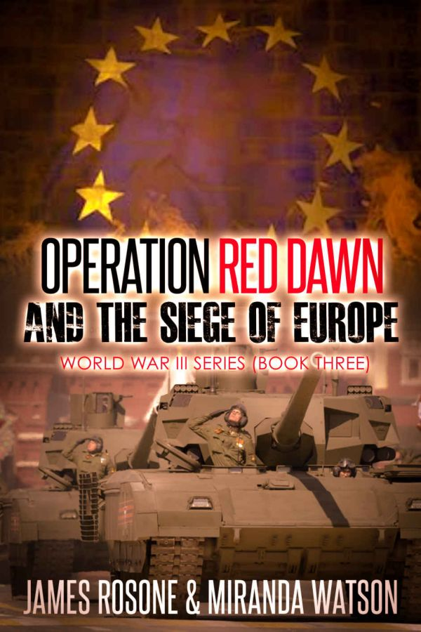 Обложка книги Operation Red Dawn and the Siege of Europe