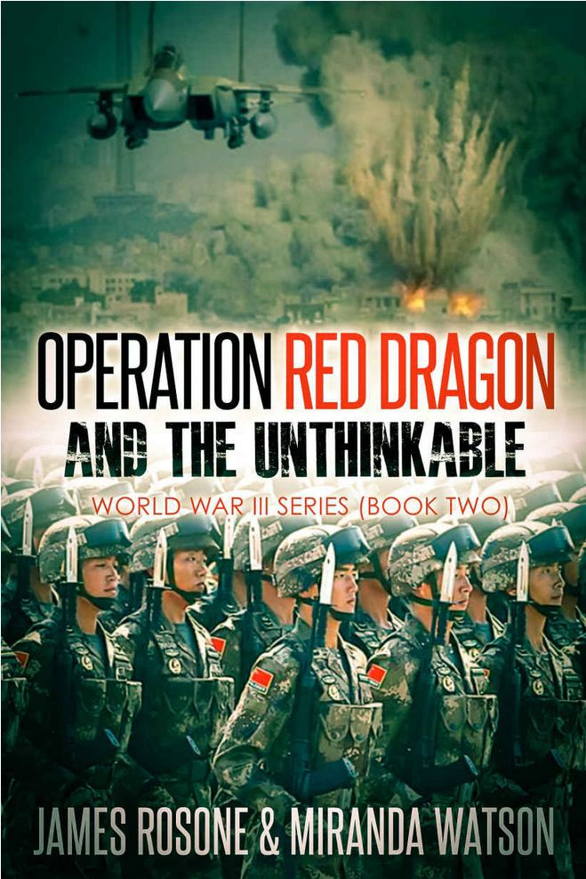 Обложка книги Operation Red Dragon and the Unthinkable