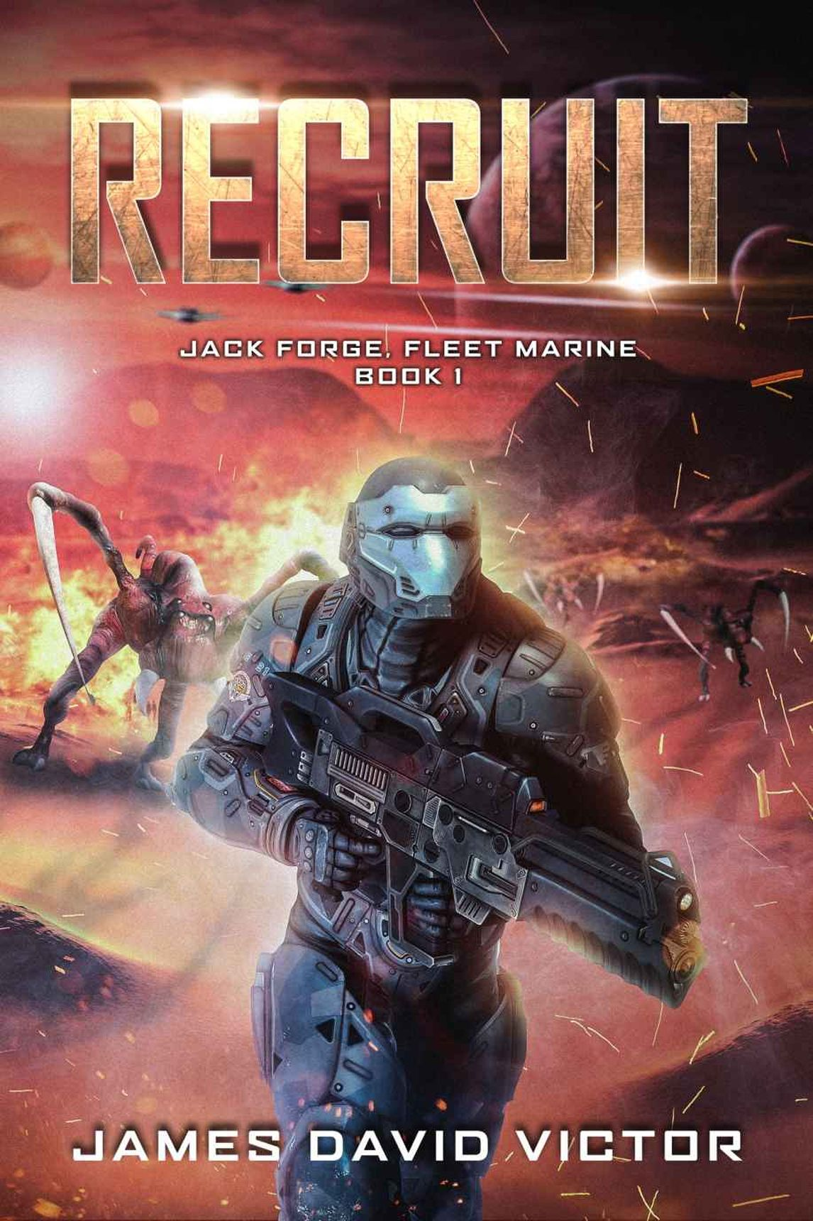 Обложка книги Recruit (Jack Forge, Fleet Marine Book 1)