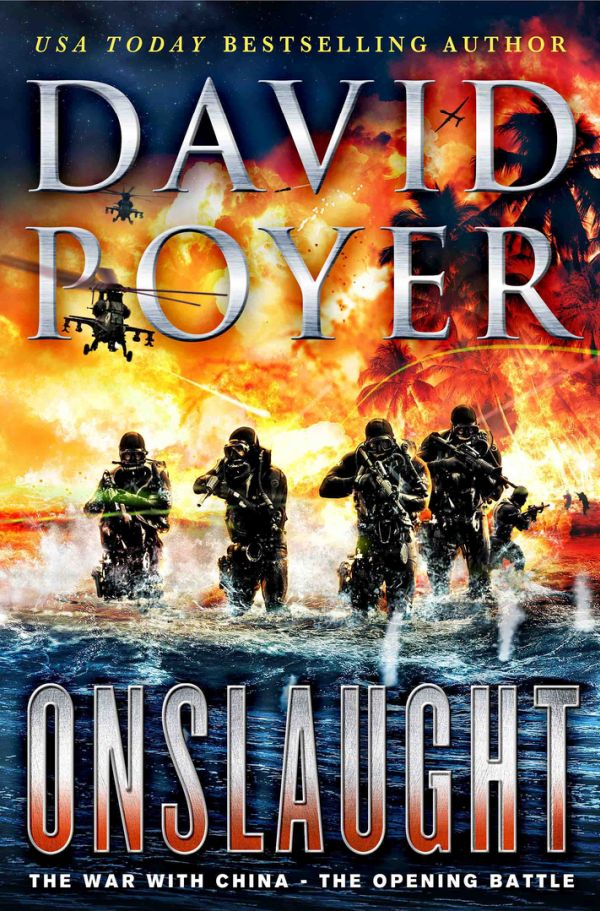 Обложка книги Onslaught: The War With China - The Opening Battle
