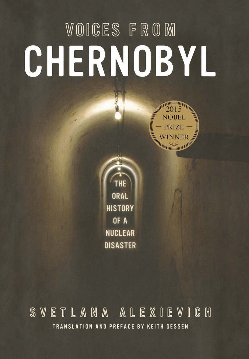 Обложка книги Voices from Chernobyl (Lannan Selection)