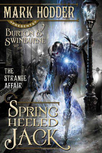 Обложка книги The strange affair of Spring-heeled Jack