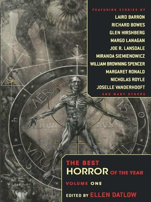 Обложка книги The Best Horror of the Year – Volume One