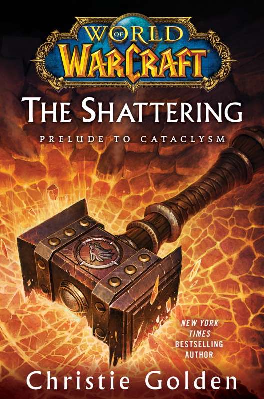 Обложка книги The Shattering: Prelude to Cataclysm