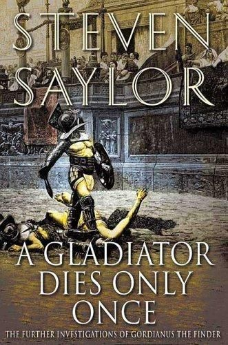 Обложка книги A Gladiator Dies Only Once