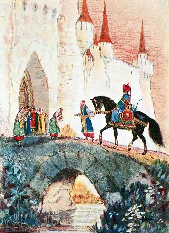 Изображение к книге Руслан и Людмила